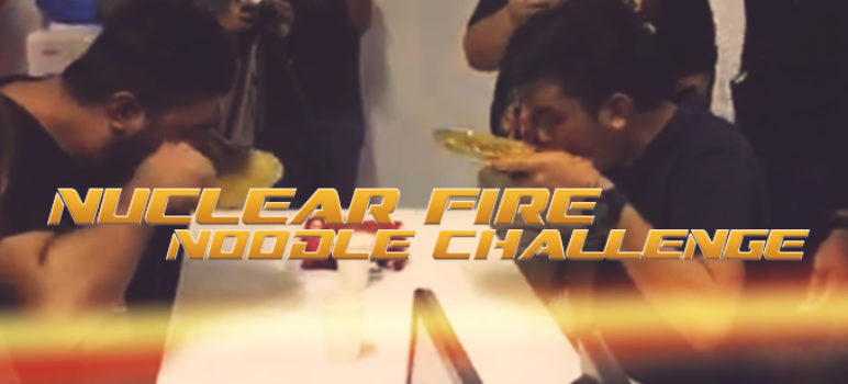 CoffeeBot Does the Nuclear Fire Noodle Challenge