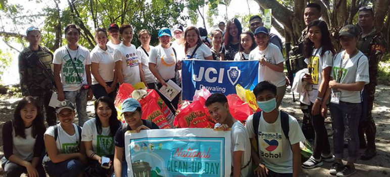 JCI Duwaling National Clean Up Day