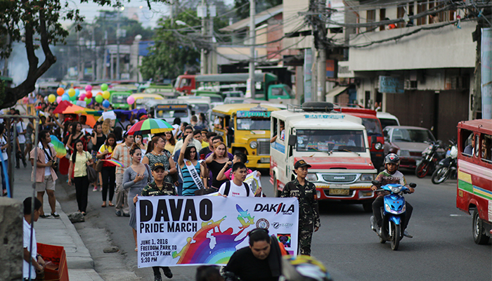 Marching as An Ally – Davao Pride March 2016