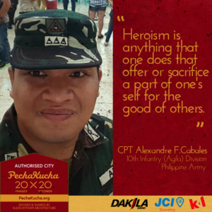 Capt. Alex Cabales - Heroism as a Soldier