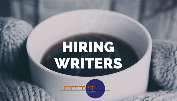 CoffeeBot is Hiring Writers! Join Our Team