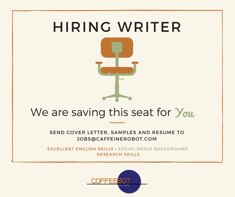 hiring writers davao