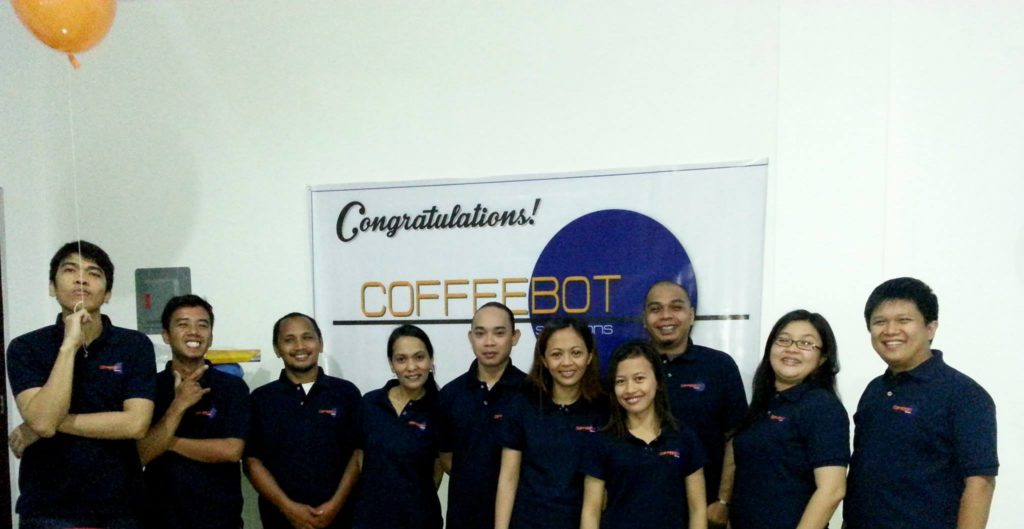 CoffeeBot Team in Buhangin
