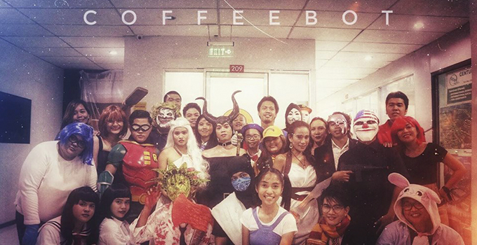 CoffeeBot Halloween Party