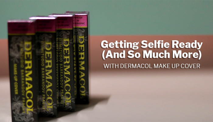 Getting Selfie Ready (And So Much More) With Dermacol Make Up Cover