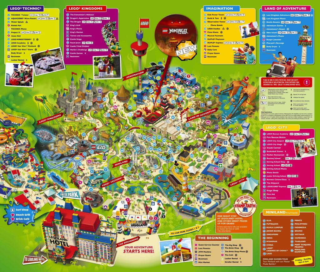 Legoland Map