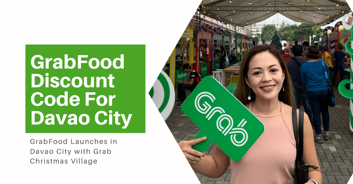 GrabFood Discount Code For Davao City