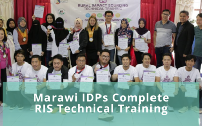 Marawi IDPs Complete RIS Technical Training
