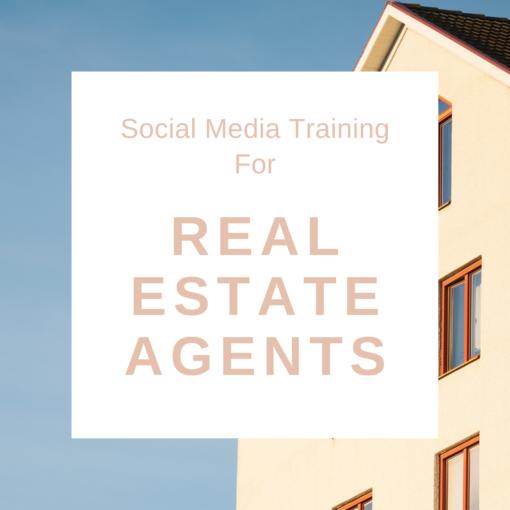 Social Media training for real estate agents